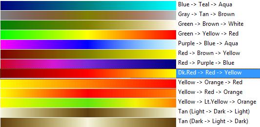 Color Scheme Options