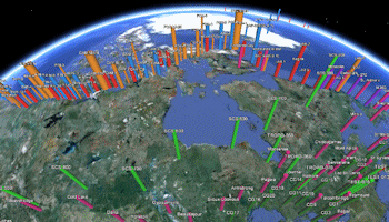 Google Earth Cylinder Maps - Advanced