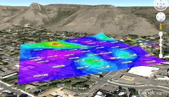 Exporting RockPlot2D Maps to Google Earth (KMZ)